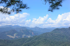 Beautiful thailand. Beautiful summer mountain high complex in thailand Royalty Free Stock Image
