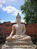 A beautiful Thailand temples, pagodas and Buddha statute in old historical`s Thailand country. At `Ayutthaya` Province Thailand Stock Photos