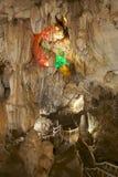 Beautiful Tham Jang cave, Vang Vieng, Laos.  Stock Photography