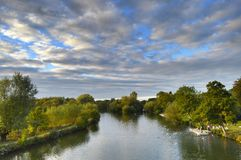 Beautiful Thames view Royalty Free Stock Photos