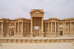 Free Beautiful Theatre In Palmyra Ancient City In Syria Stock Photos - 63079273