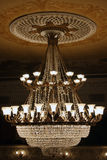 Beautiful theatrical chandelier Stock Photo