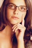 Beautiful Thinking Woman Stock Image