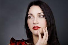 Beautiful thoughtful woman Royalty Free Stock Photo
