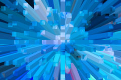 The beautiful Three-dimensional image Stock Image