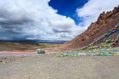 Beautiful tibet landscape Royalty Free Stock Photography
