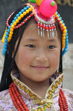 A beautiful tibetan girl Royalty Free Stock Photo