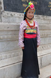 A beautiful tibetan girl Royalty Free Stock Photos