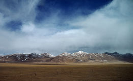Beautiful tibetan plateau Stock Photo