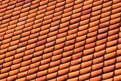 Beautiful tiled roofs Royalty Free Stock Photos