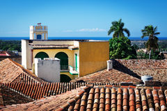 Beautiful tiled roofs Royalty Free Stock Images