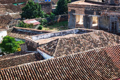 Tiled roofs Royalty Free Stock Images