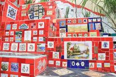 Free Beautiful Tiled Wall In Rio De Janeiro Brazil Stock Image - 51879121