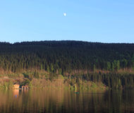 Beautiful Titisee in black forest in Germany. Beautiful and quiet Titisee in Black forest, with good refection Royalty Free Stock Image