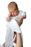 Beautiful toddler on mother hand Stock Images