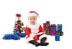 Beautiful toddler Santa Royalty Free Stock Photo