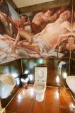 Beautiful toilet stock photo
