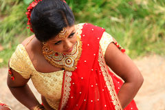 Srilankan bride Royalty Free Stock Photography