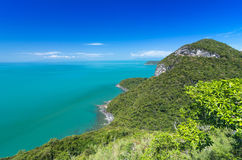 Beautiful Top view of Ang Thong National Marine Park, Thailand Royalty Free Stock Photo
