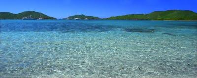 Beautiful Tortola (BVI). View of the Caribbean island Tortola - British Virgin Islands Royalty Free Stock Image