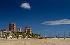 Beautiful touristic Murcielago beach in Manabi Royalty Free Stock Images