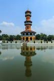 The beautiful tower. At Ayutthaya, Thailand Stock Photo