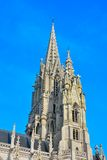 Beautiful tower of a classic church Royalty Free Stock Photo