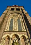 Beautiful tower of a classic church Royalty Free Stock Images