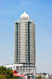 Beautiful tower design in the city,bangkok Royalty Free Stock Image
