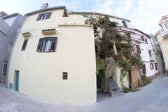 Beautiful town of Baska Stock Photo