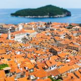 Beautiful town of Dubrovnik Stock Photography