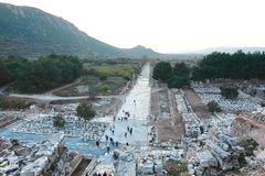 The beautiful Town ephesus, turkey Stock Images