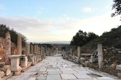 The beautiful Town ephesus, turkey Royalty Free Stock Photo