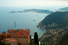 Beautiful town Eze, France Stock Photo