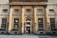 Beautiful Town House. Exterior of a Beautiful Town House in Bath England Stock Photography