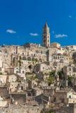 Beautiful town of Matera, Unesco heritage, Basilicata region, Italy Royalty Free Stock Photography