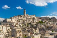 Beautiful town of Matera, Unesco heritage, Basilicata region, Italy Royalty Free Stock Image