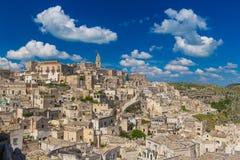 Beautiful town of Matera, Unesco heritage, Basilicata region, Italy Royalty Free Stock Photos