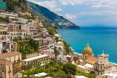 Beautiful town of Positano, Amalfi coast, Campania region, Italy Stock Photography