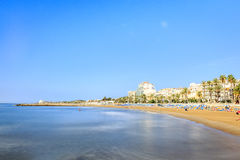 Beautiful town of Sitges, Catalonia, Spain Royalty Free Stock Images