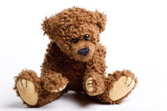 Beautiful toy, bear Teddy. Royalty Free Stock Photography