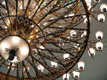 Beautiful Traditional Chandelier Stock Images