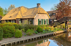 Beautiful traditional Dutch house Stock Photo