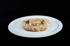 Beautiful traditional european sweet Pretzel German Bretzel, Br Royalty Free Stock Photo