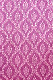 Beautiful traditional fabric Thai design. Texture or background stock photography