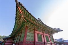 Beautiful traditional house at Gyeongbok Palace, Seoul , Korea. Beautiful traditional house at Gyeongbok Palace Royalty Free Stock Photo