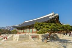 Beautiful traditional house at Gyeongbok Palace, Seoul , Korea. Beautiful traditional house at Gyeongbok Palace Stock Photography