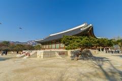 Beautiful traditional house at Gyeongbok Palace, Seoul , Korea. Beautiful traditional house at Gyeongbok Palace Stock Photo