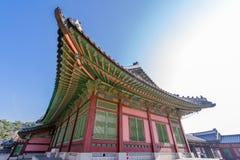 Beautiful traditional house at Gyeongbok Palace, Seoul , Korea. Beautiful traditional house at Gyeongbok Palace Stock Photos