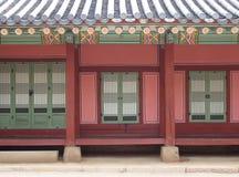 Beautiful traditional korean building elevation Stock Photos